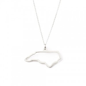 Maya Brenner North Carolina State Necklace