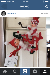 Trish Rohr Elf on Shelf