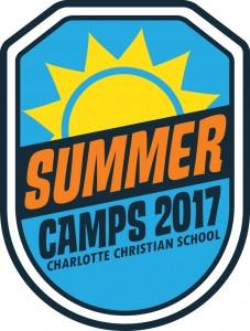 2017 Charlotte Christian Summer Camp Logo - 300x250