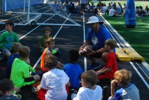 Charlotte Christian Summer Camp Pic 4 - Football Camp with Coach Jason Estep