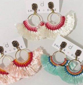 S+DFringeEarrings