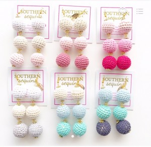 Southernsequinsearrings