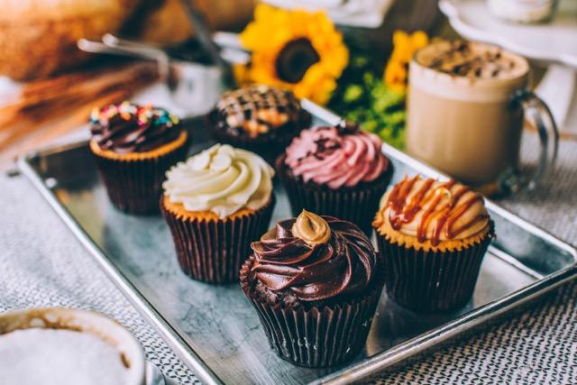 Sunflour Cupcakes
