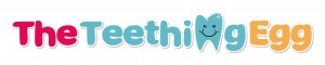The teething egg logo