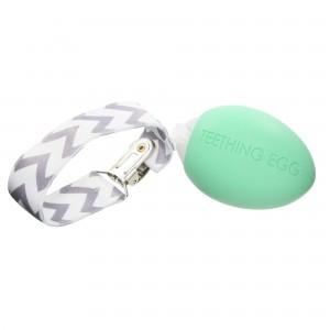 mint teething egg