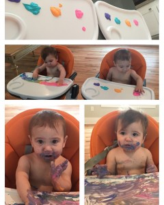 The girls, age 11 months