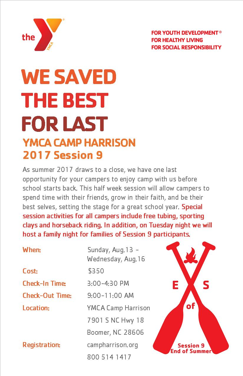 Camp Harrison Session 9
