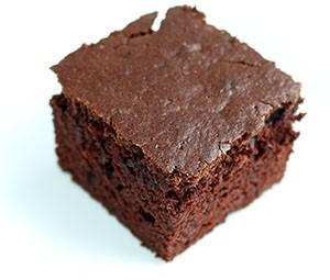 Emergency Chocolate Cake slice CSP