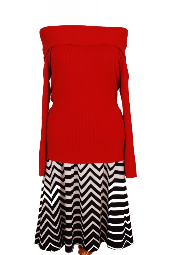 INC top, XL, Original Retail - $59, CWS Price - $15, Alfani skirt, 20W,  Original Retail - $79.50, CWS Price - $20
