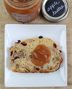 Easy Apple Butter with Harvest Bread CSP