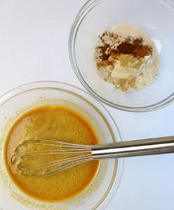 Pumkin Bread mixing bowls