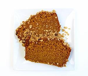 Pumpkin Bread serving CSP