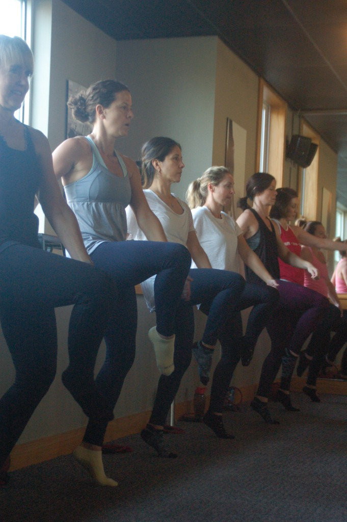 Pure Barre toe point