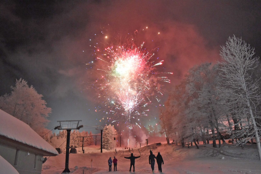 Fireworks at Beech Mtn Resort - CREDIT Ashley Laws