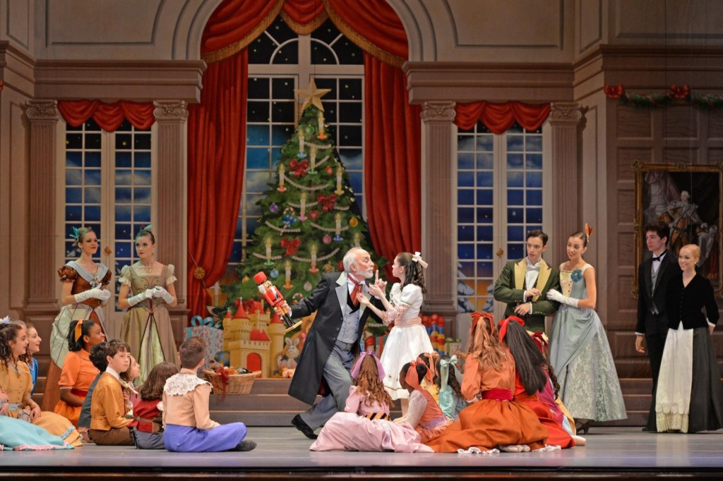 6_Charlotte-Ballet_Jean-Pierre-Bonnefouxs-Nutcracker_-Rosie-Morrison-as-Clara-and-Mark-Diamond-as-Herr-Drosselmeyer-_photo-by-Peter-Zay_web