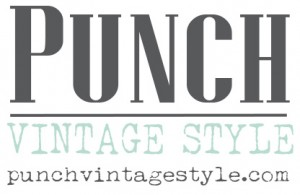 Punch Vintage Style Logo