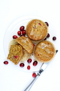 Whole Grain Coconut Cranberry Orange Muffins 3