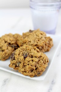 Healthier GF Oatmeal Raisin Cookies 2