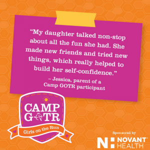1 Camp GOTR parent quote novant